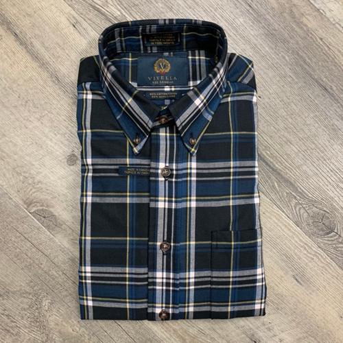 VIYELLA Long Sleeve Flannel Shirt 555420 (JCC16561)
