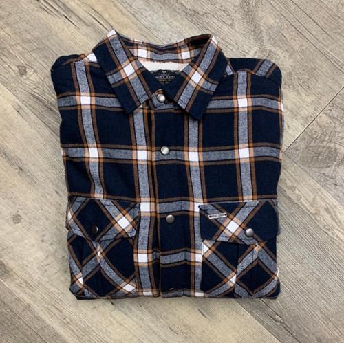 POINT ZERO  Long Sleeve Sherpa Lined Shirt 7554580 (JCC16667)