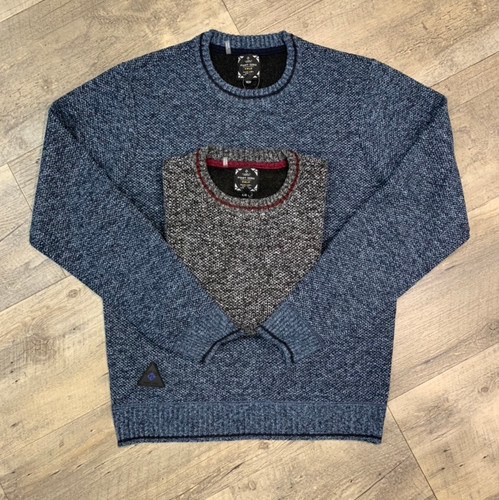 POINT ZERO Knit Crew Sweater 7553609 (JCC16662)