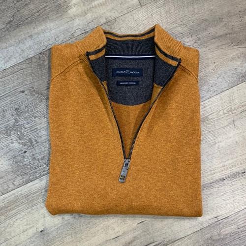 CASA MODA  1/4 Zip Sweater 403490600 (JCC16592)
