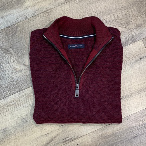 CASA MODA  1/4 Zip Sweater 493243700 (JCC13906)