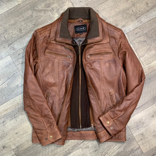 PLONGE  Leather Jacket  40578 (JCC16033)