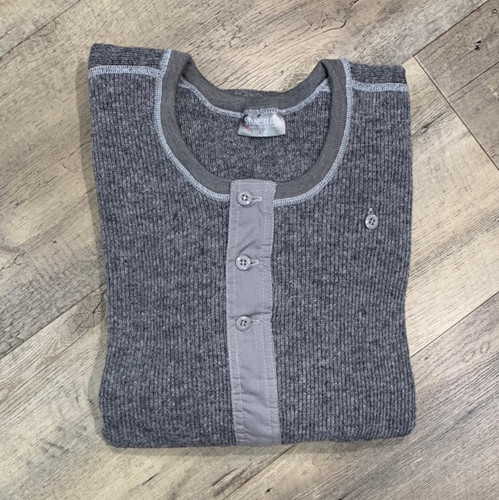 STANFIELD'S  Long Sleeve Wool Henley 1315 (JCC10852)