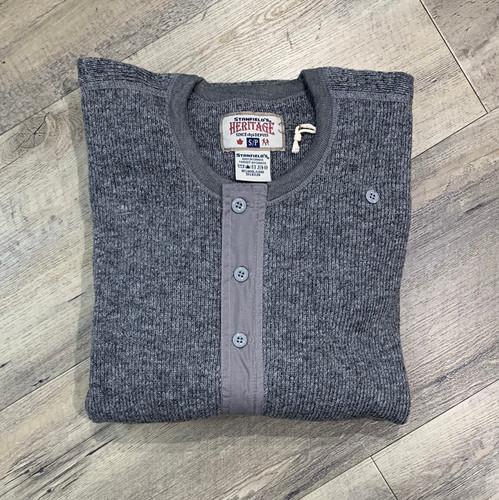 STANFIELD'S Long Sleeve Wool Henley 1328 (JCC12338)
