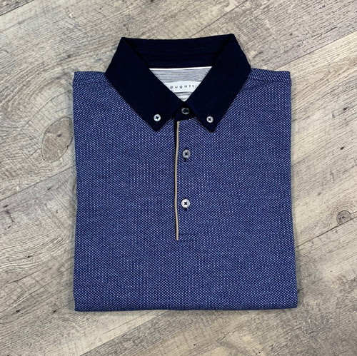 BUGATTI  Short Sleeve Polo 75101