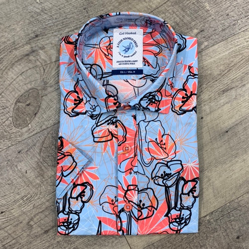 A FISH NAMED FRED  Short Sleeve Shirt (JCC17025)
