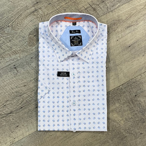 POINT ZERO Short Sleeve Shirt (JCC16974)