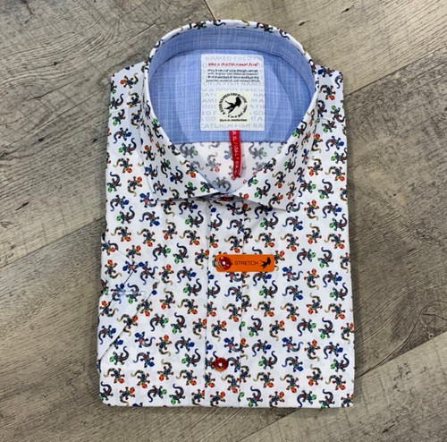 A FISH NAMED FRED Short Sleeve Shirt (JCC17026)