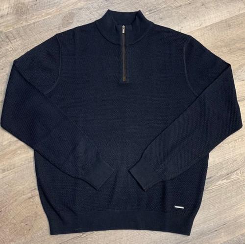 BUGATTI 1/4 Zip Mock Sweater  7500