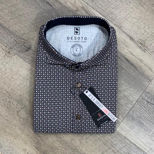 DESOTO  Long Sleeve Stretch Shirt 38607-3-864