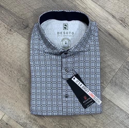 DESOTO Long Sleeve Stretch Shirt 37407-3-612