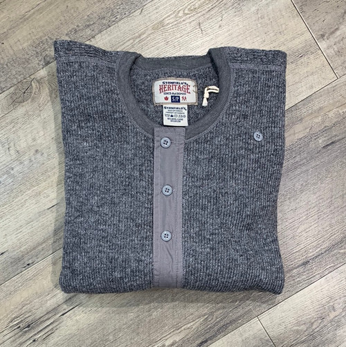 STANFIELD'S Long Sleeve Wool Henley 1328 (JCC12338)