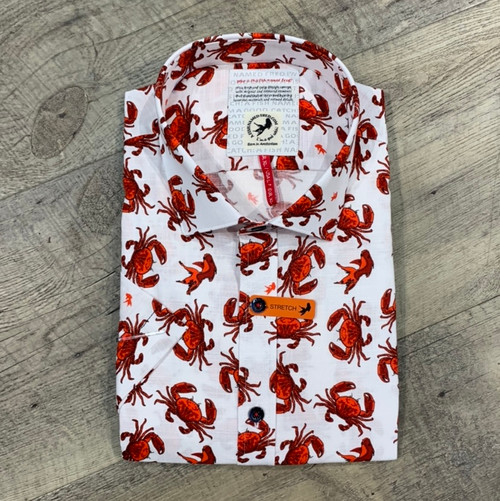 A FISH NAMED FRED Short Sleeve Shirt  (JCC17027)