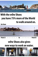 WoW Shoes Walk on Water 120 lbs. Above