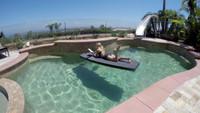 EVA SUP 8.0 Yogi XL Stand Up Paddle Board - Silver