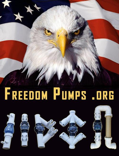 Freedom Pump 4 120-watt Solar/AC Water Pump