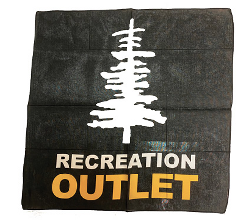 Recreation Outlet Bandanna ( 10 Bandannas for $10)