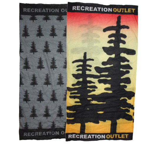Recreation Outlet Polyester Muti-Use Headwear Wrap