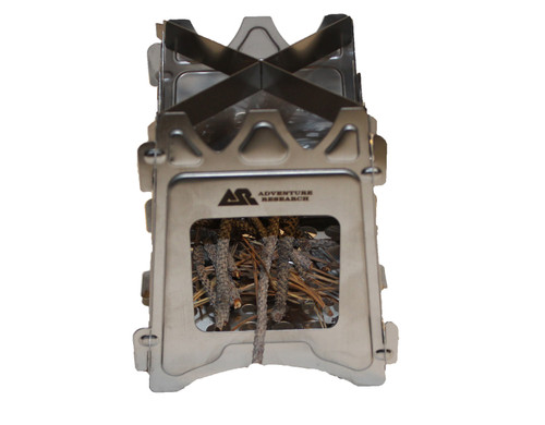 Adventure Research Stainless Steel Wood Stove