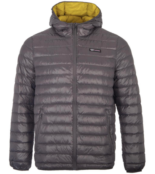 WILDERNESS TECHNOLOGY MEN'S HOODED DOWN SWEATER