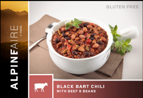 Alpineaire Black Bart Chili with Beef & Beans