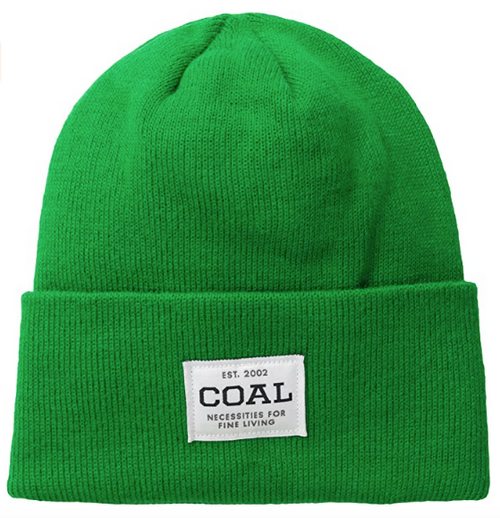 "Coal ""The Uniform"" Kelly Green Beanie"