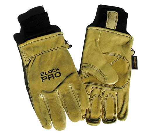 Red Steer Pigskin Lined (Black Pro) Work Glove
