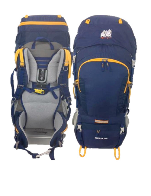 High Peak Sherpa 60+10 Backpack