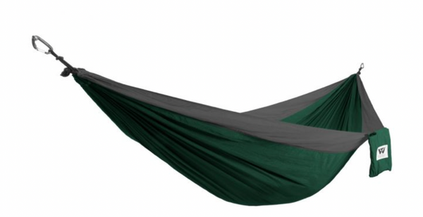 Wilderness Technology Parachute Nylon Double Hammocks (10 Color Options)