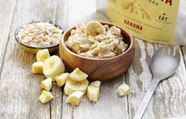 Trailtopia Banana Oatmeal