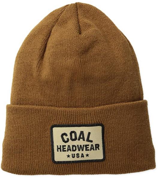 "Coal ""The Uniform"" Light Brown Beanie"