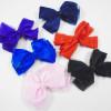 """5"""" Organiza & Satin Asst Color Gator Clip Bows .42 each"""