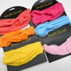 Carded Multifunctional Scarf/Headwear/ Mask  Light Color Mix .56  each