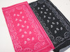 Carded Multifunctional Scarf/Headwear/ Mask  Bandana Print 8 colors   .60  each