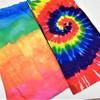 Carded Multifunctional Scarf/Headwear /Face MASK Tye Dye Color Group  .60 ea