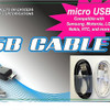 SPECIAL 3 FT USB Cable Micro 24 per can display $ 1.00 each