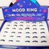 Best Quality Solid Band Mood Rings 36 pc display bx ONLY .55 ea
