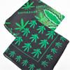 "20"" Square 100% Cotton Leaf Theme Bandanas 2 styles   .56 each"