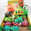 "4""  Gel Super Squish/Stress  Balls Dinosaur Theme  12 per display box .83 ea"