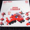 Special Fireman Theme DIY Block Set 12 per display Mixed Styles .75 ea