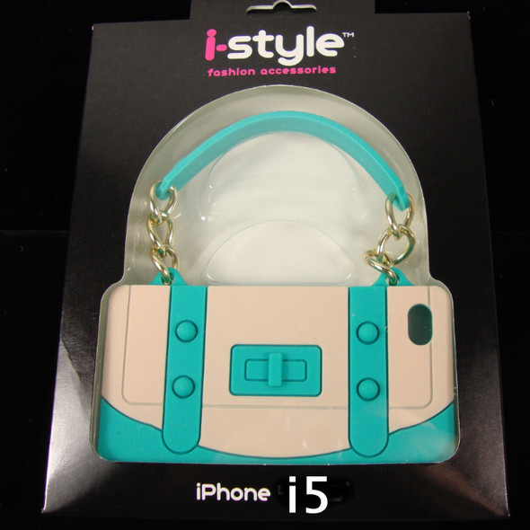 Fancy Style Silicone iPhone Purse Case Fits i5 sold by dozen 6 colors