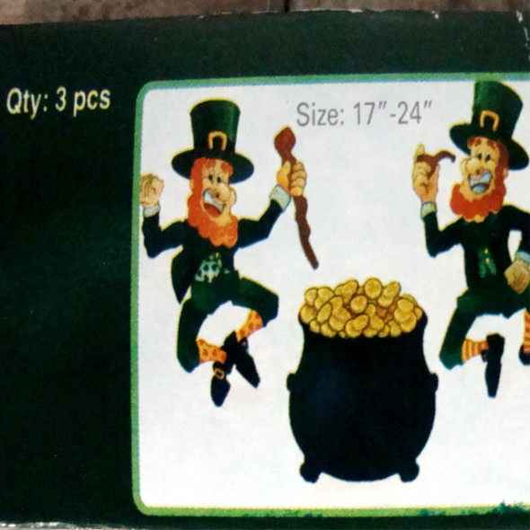 St. Patrick's Jointed Cutouts 6 Sets per Master Package