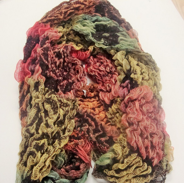 "9"" X 72"" Multi Color Knit Fashion Scarf Best Deal sold by 12- $ 4.00 ea"