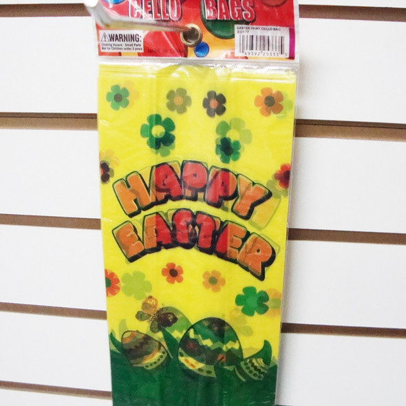 12 Ct Easter Cello Bags sold by 12-12 pks for $ 3.50