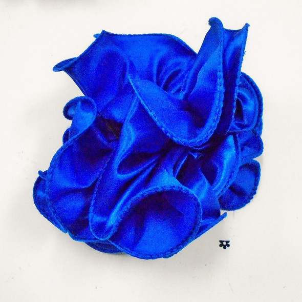 """SPECIAL  5"""" Satin Fabric Jaw Clip Bows Asst Colors .58 each  NOT MANY LEFT"""