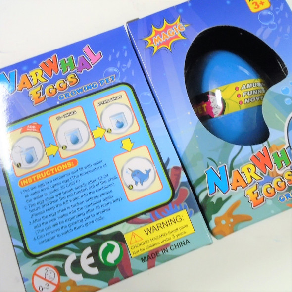 Hatch Your Own Whale Egg 1-dz counter display box .79 ea