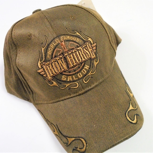 Best Quality Iron Horse Saloon Baseball Caps sold by pc $ 3.50 each
