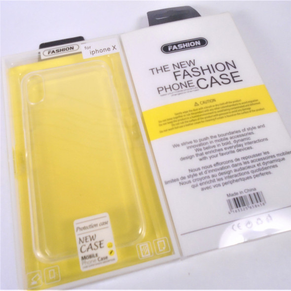 Iphone Clear Protective Case for Iphone X & 7 Plus 12 per pk .58 each