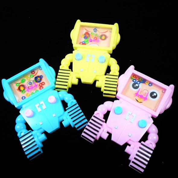 "4"" X 6"" Robot Theme Water Games Pastel Colors 12 per pk .60 each"