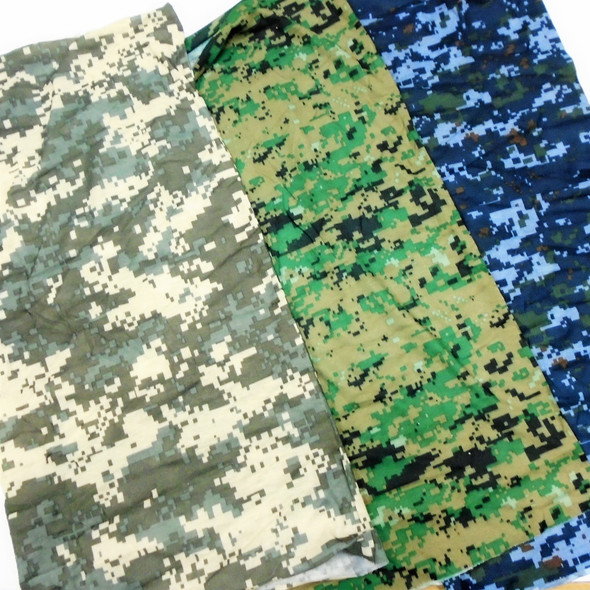 Carded Multifunctional Scarf/Headwear/ Mask 5 Style Camo Mix    .66  ea
